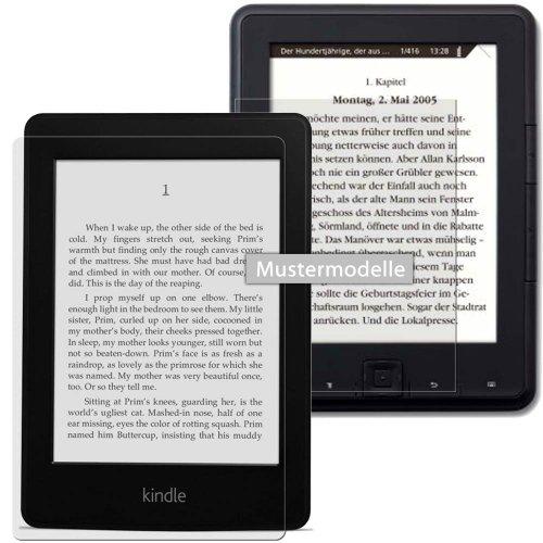 easy-top Anti-Shock Displayschutzfolie ANTIREFLEX (Matt-Antifingerprint) für Amazon Kindle Paperwhite (2014)