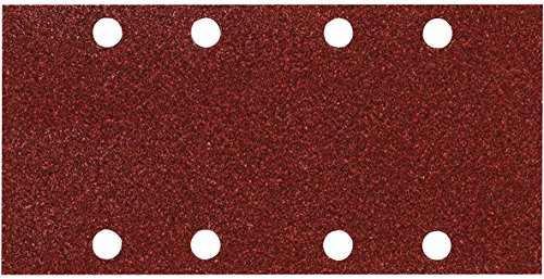 Makita P-31837 1/3 Sheet 40 Grit Punched Abrasive Paper - Multi-Colour