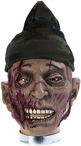 Forum Novelties Zombie Mask with Hat, Clem