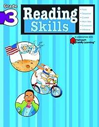 Reading Skills: Grade 3 (Flash Kids Harcourt Family Learning)