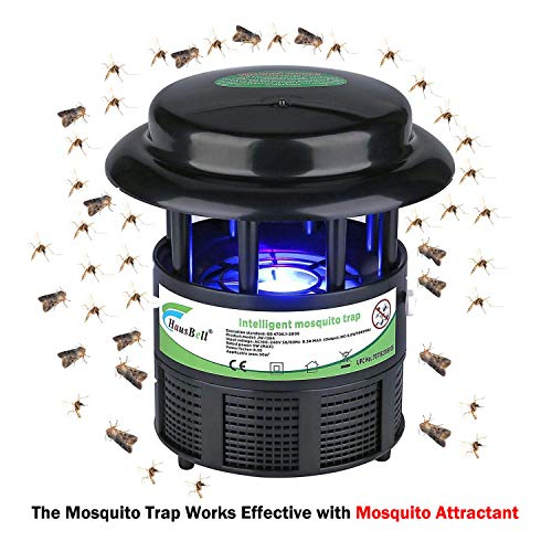 HAUSBELL Mosquito Killer Lamp, Bug Zapper, Mosquito Trap, Pests Trap, Bug Control Inhaler, USB P ...