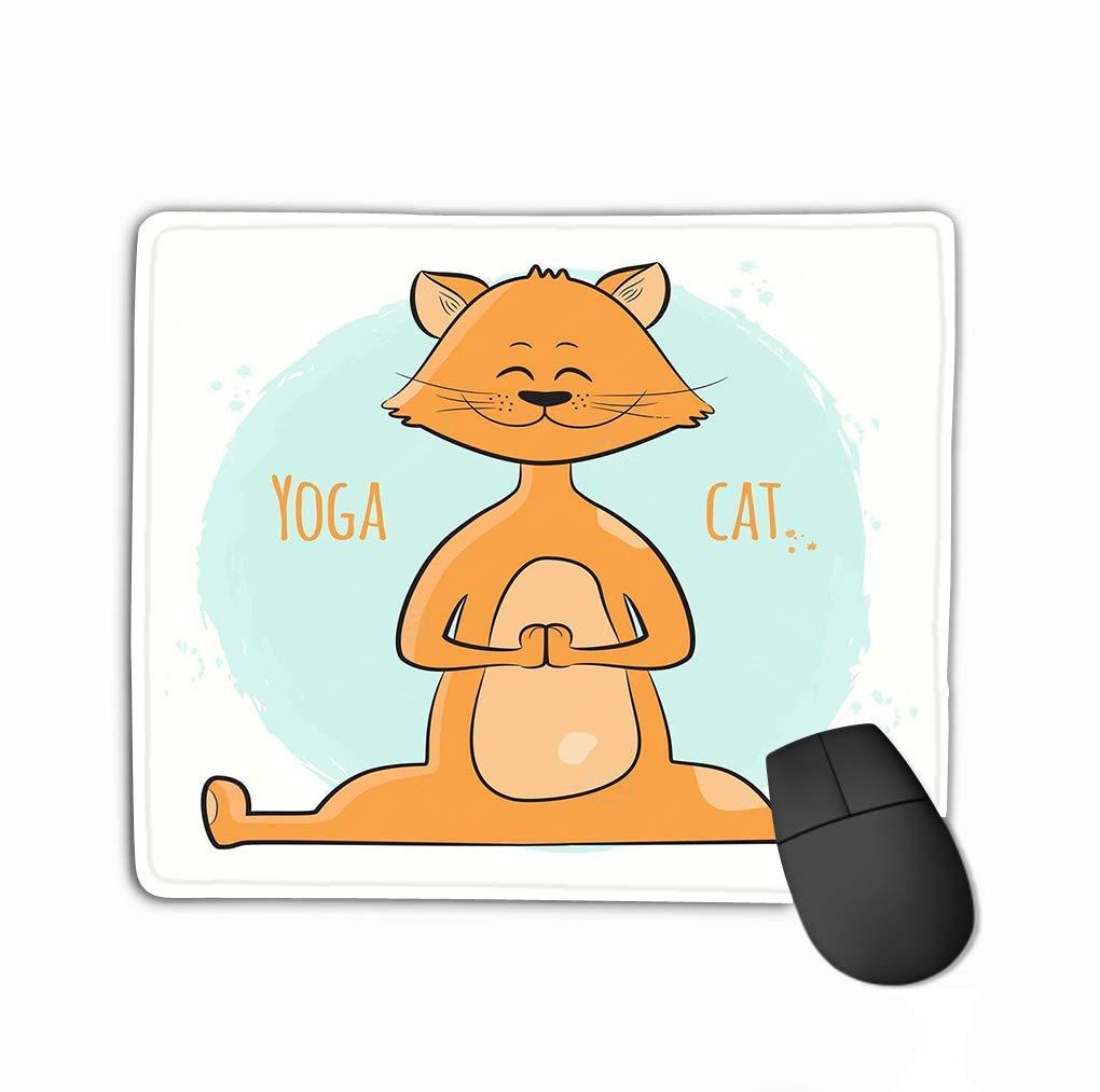 Alfombrilla de ratón con diseño de Gato de pie y Dibujos ...