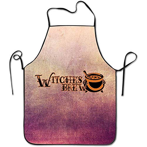 Ashasds Witches Brew Kitchen Apron for Women Cute Apron Dress Men Cooking Apron Pinafore