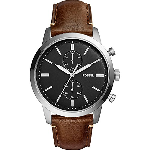 Fossil Townsman Multifunction Leather Watch