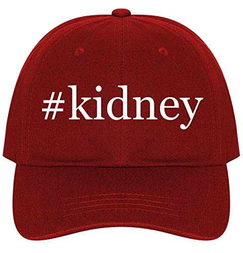 #Kidney - A Nice Comfortable Adjustable Hashtag Dad Hat Cap, Red