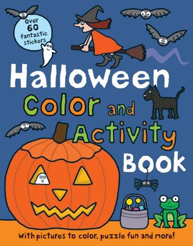 Halloween Preschool Color and Activity Book