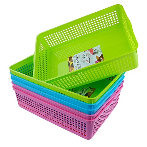 plastic baskets for classroom - 7