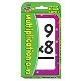 Trend Enterprises Multiplication Pocket Flash Cards