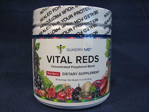 VITAL REDS Dr. Gundry M.D. Polyphenol Blend Dietary Supplement from Gundry MD