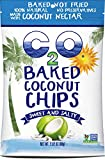 C2O Baked Coconut Chips, Sweet and Salty, 2.82 Ounce (Pack of 12)