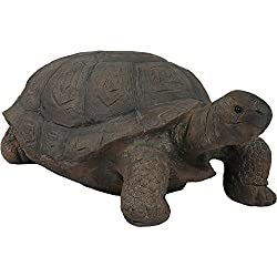 Sunnydaze Todd The Tortoise Indoor/Outdoor Garden Statue, 30 Inch Long