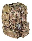 Multicam British Army Viking Patrol Assault Pack Rucksack Molle Travel Bag 60L BTP Camo by Zip Zap Zooom
