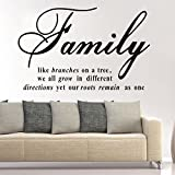 Best Are Like Stars Wall Stickers - English proverbs are like tree wall sticker PVC Review