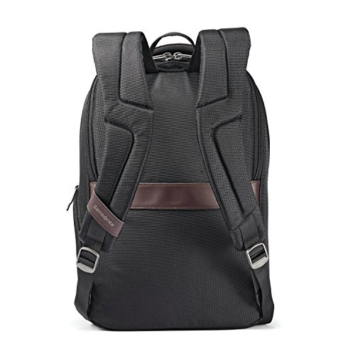 51%2BBz8cQ3%2BL - Samsonite Kombi Small Backpack, Black/Brown, One Size