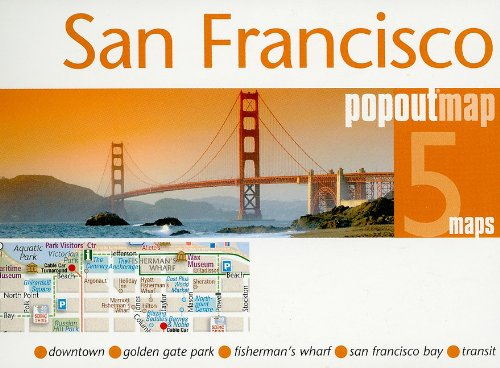 San Francisco PopOut Map: pop-up city street map of San Francisco city center - folded pocket size travel map with transit map included (PopOut Maps) pdf epub