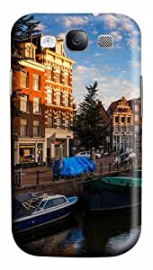 Morning In Amsterdam PC Case Cover for Samsung Galaxy S3 and Samsung Galaxy I9300 3D
