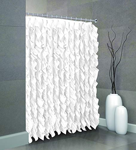 huis cascade chic sheer voile vertical