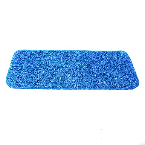 Microfiber Mop Pads, Yamix Set of 5 Hardwood and Floor Microfiber Spray Mop Pads Cleaning Pad Mop Refill Replacement Heads for Wet/Dry Mops,Spray and Spin Magic Mop - Blue by Yamix (Image #3)