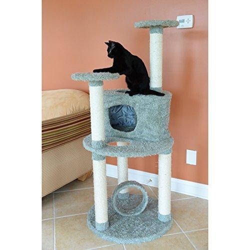 Armarkat Premium Dark Green Cat Condo Pet Furniture