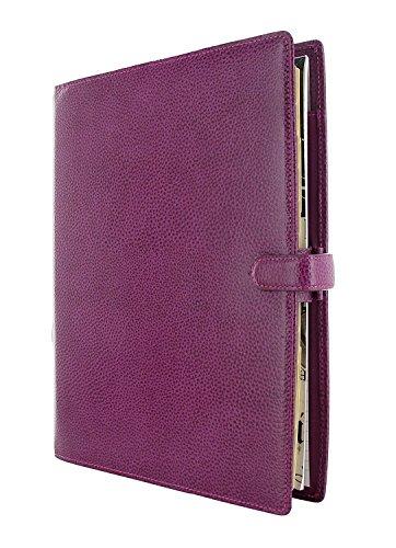 Filofax - Agenda archivador (tamaño A4), color morado: Amazon.es: Oficina y papelería