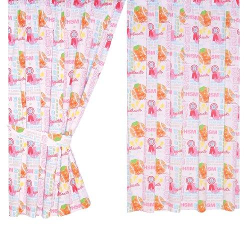 [Disney High School Musical Club 66 X 54 inch Drop Curtain Pair] (Hsm Costumes)