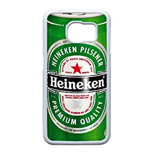 Heineken For Samsung Galaxy S6 Edge Cell Phone Case White ADS073528