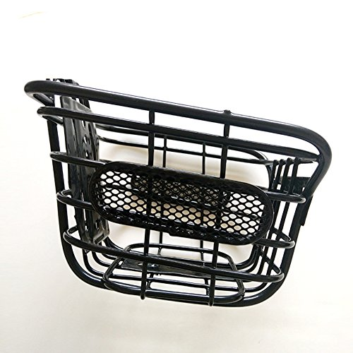 EDTara Children Cuboid Steel Wire Front Black Basket Bike Accessories Bicycle Mountain Bike by EDTara