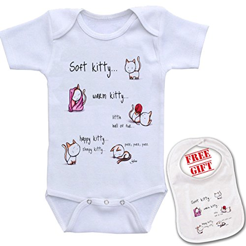 Kitty Unisex bodysuit onesie matching