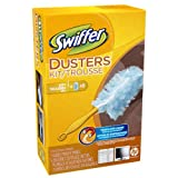 Swiffer Dusters Kit with Handle and 5 Unscented Refills- Packaging May Vary
