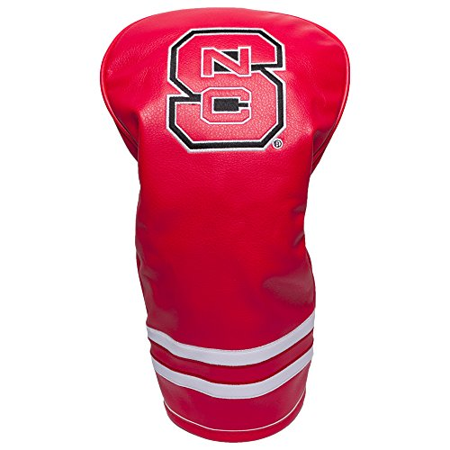 Team Golf NCAA NC State Wolfpack Vintage Driver Golf Club Headcover, Form Fitting Design, Retro Design & Superb Embroidery (Nc State Golf Club Covers)