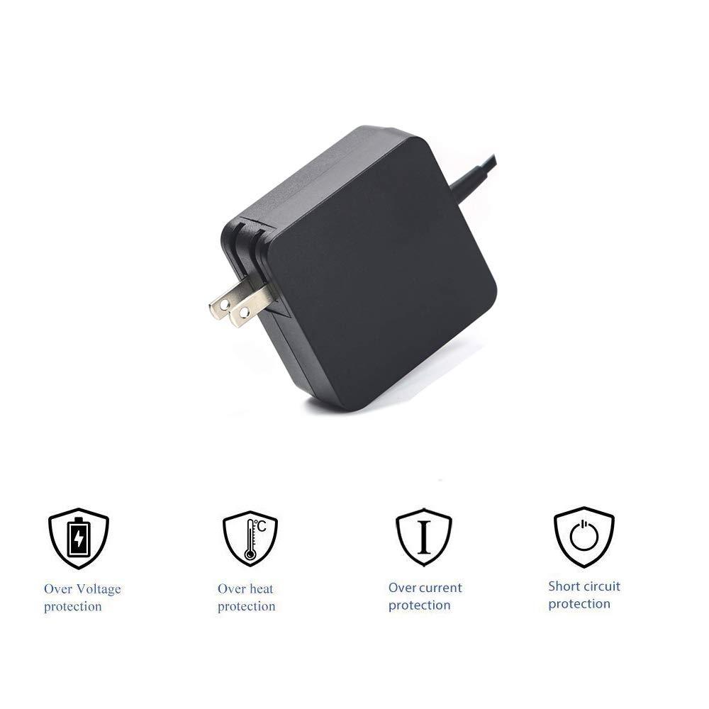 Amazon.com: AC Charger Cable de adaptador de fuente de ...