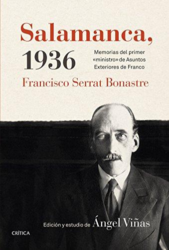 Descargar Libro Salamanca, 1936 Ángel Viñas