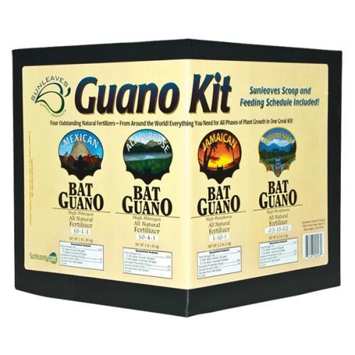 51%2BC3KQUBYL Sunleaves Guano Kit Fertilizers