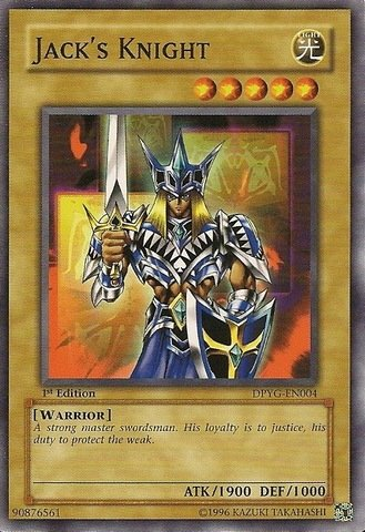 Yu-Gi-Oh! - Jack's Knight (DPYG-EN004) - Duelist Pack Yugi Moto - Unlimited Edition - Common (Jacks Gi Knight Oh Yu)