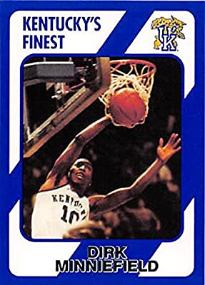 Dirk Minniefield Basketball Card (Kentucky Wildcats) 1989 Collegiate Collection #112