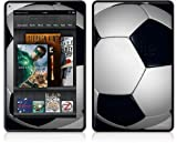 Amazon Kindle Fire (Original) Decal Style Skin - Soccer Ball