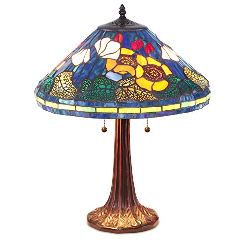 Tiffany Style Water Lily Table Lamp