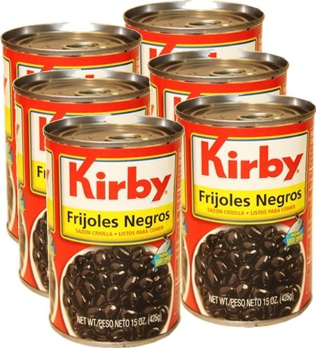 Price comparison product image Kirby Black Beans. Cuban Style 6 cans,  15 oz each