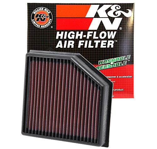 K&N 33-2491 High Performance Replacement Air Filter ()