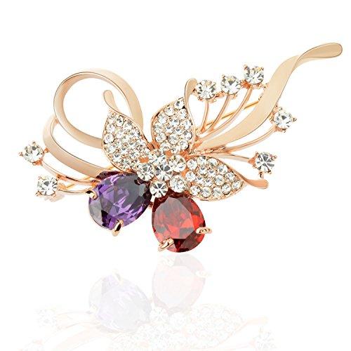 Vintage Butterfly Pin Brooch - 1