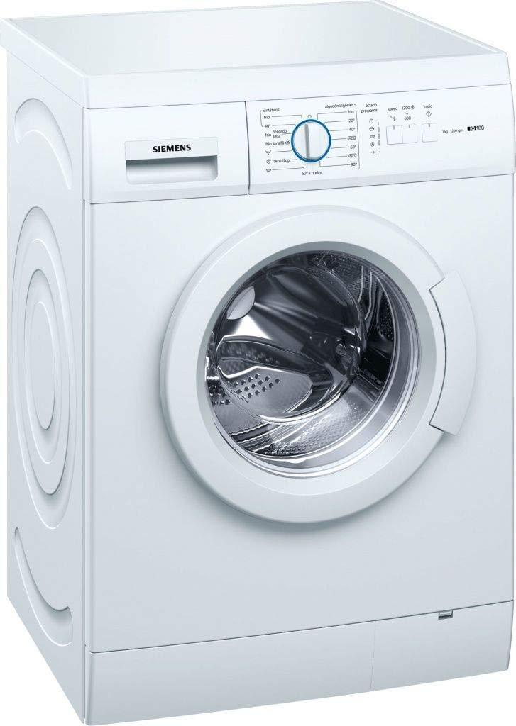 Siemens lavadora carga frontal wm12e060es 7kg 1200rpm a+++ blanco ...