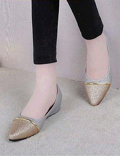 PDX/ Damenschuhe-Ballerinas-Outddor / Lässig-Kunstleder-Flacher Absatz-Komfort / Spitzschuh-Schwarz / Lila / Weiß , black-us5.5 / eu36 / uk3.5 / cn35 , black-us5.5 / eu36 / uk3.5 / cn35