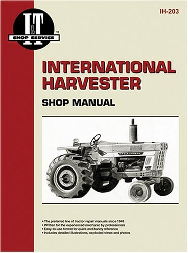 [ { INTERNATIONAL HARVESTER (FARMALL) SHOP MANUAL: MODELS 766, 826, 966, 1026, 1066/MODELS 454, 464, 484, 574, 584, 674/MODELS 786, 886, 986, 1086 } ] by I & T Shop Service (AUTHOR) Jun-01-1990 [ Paperback ] (International I&t Shop Service Manual)