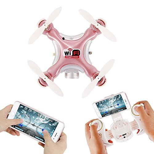 Mini Drone with Camera, Altitude Hold Quadcopter Dayan Anser Pocket RC WIFI Drone CX-10WD-TX Remote Control Helicpoter, One Key Take Off/Landing Aircraft by Dayan
