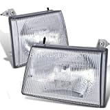 Itasca Sunstar 2006 RV Motorhome Pair (Left & Right) Replacement Front Headlights with Bulbs