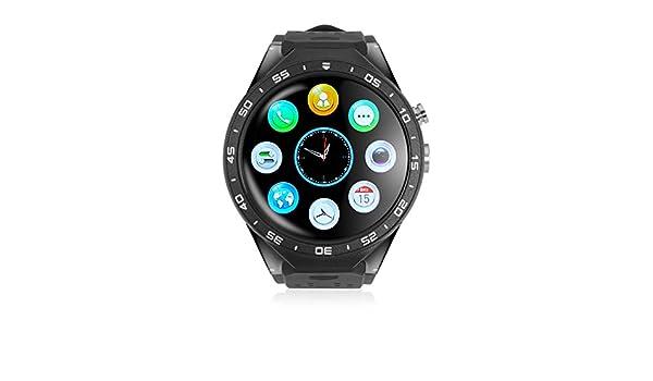 imperii Smartwatch WiFi Amoled HR Negro: Amazon.es: Electrónica