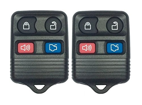 Ford Expedition New Keyless Entry - 2 S&I Remotes New Keyless Entry Remote Car Key Fob Replacement for Select Ford Escape, Mustang, Expedition, Explorer, Focus, Fusion, Taurus and More