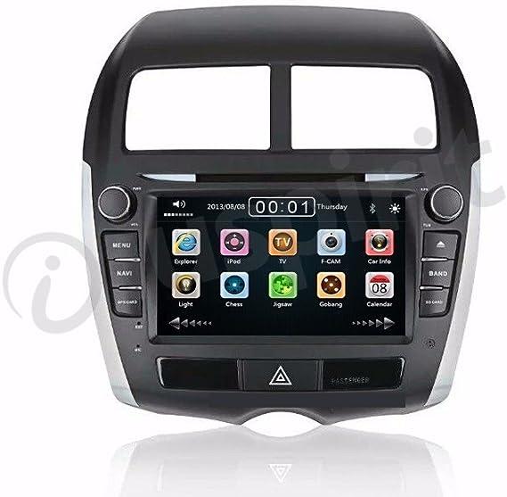 GPS DVD USB SD Navegador vcdm Bluetooth Radio 2 Din MITSUBISHI ASX/Citroen C4 Aircross/Peugeot 4008