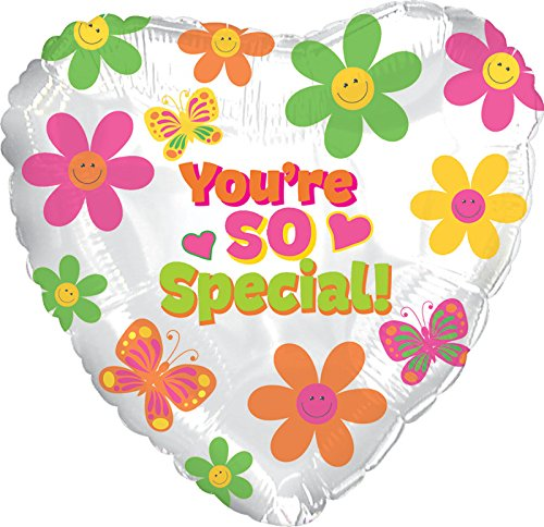 [Creative Converting CTI Mylar Balloons, You're So Special Mod Flowers, 17