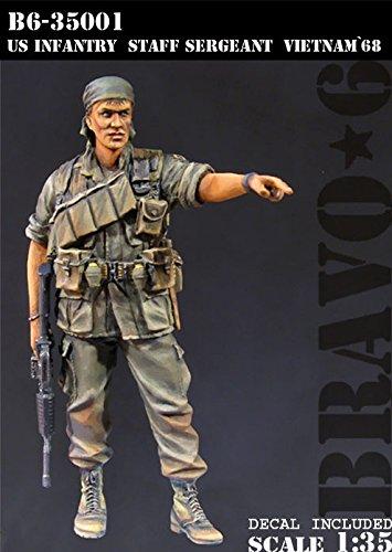 Bravo6 1:35 US Infantry Staff Sergeant Vietnam '68 #B5-35001